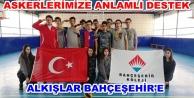 Alanya Bahçeşehir#039;den Afrin#039;deki askerlerimize destek
