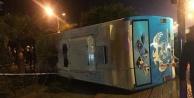 Alanya#039;da araç devrildi: 22 askerimiz yaralı