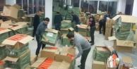 Alanya#039;da kaçak baskını! Tam 32 bin adet