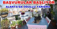 Alanyada En Güzel Balkon ve Bahçelere ödül