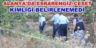 Alanyada uçurum kenarında erkek cesedi bulundu