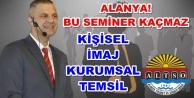 ALTSO#039;nun ilk konuğu: İhsan Ataöv