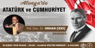 Atatürk#039;ün Alanya#039;ya gelişi kutlanacak
