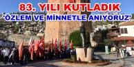 Atatürk#039;ün Alanya#039;ya gelişi kutlandı