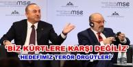 Çavuşoğlu#039;ndan moderatöre sert tepki