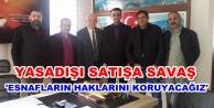 Demir#039;den Vergi Dairesi ziyareti