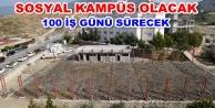 Kapalı Spor Salonu inşaatı başladı