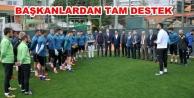 Oda başkanlarından Alanyaspor#039;a destek