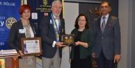 Rotaryanlar ödül töreninde bir araya geldi