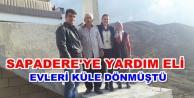 Yangın mağduru Çınar ailesi eşyalarına kavuştu