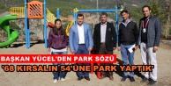 2018'de parkı olmayan mahalle kalmayacak