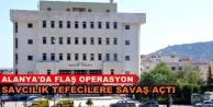 Alanya#039;da tefeci operasyonu: 15 kişi yakalandı, 6 kişi aranıyor