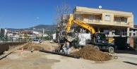 Alanya#039;da; yeni yola yeni kanalizasyon
