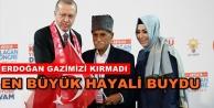Alanyalı gazinin Erdoğan hayali gerçek oldu