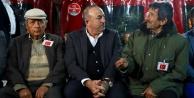 Bakan Çavuşoğlu Alanya#039;ya taziyeye geldi