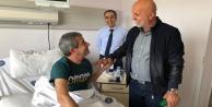 Başkan Çavuşoğlundan Yeni#039;ye #039;geçmiş olsun#039; ziyareti