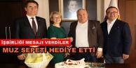 İsveç konsolosundan Şahin#039;e ziyaret