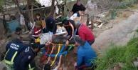 Manavgat'ta göçük: 1 ölü, 1 yaralı
