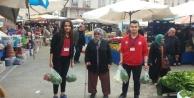 #039;Pazar Timi#039; yaşlılara yardım ediyor