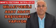 Abdullah Öztürk resmen istifa etti