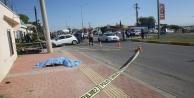 Akaryakıt pompa görevlisi trafik kazasında can verdi