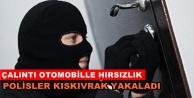 Alanya#039;da 2 hırsız polis takibi sonucu yakalandı