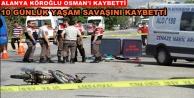 Alanya#039;da motosiklete bir kurban daha