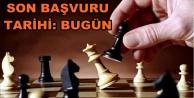 Alanya'da ödüllü satranç turnuvası