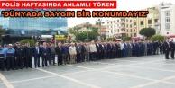 Alanya'da polisler unutulmadı