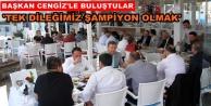 Alanya#039;daki Galatasaraylılar yemekte bir araya geldiler