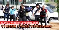 Alanya#039;daki uyuşturucu tacirleri tutuklandı
