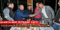 Alanya MHP mahalleleri gezmeye devam ediyor
