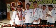 Alanya#039;nın genç aşçılarından büyük başarı