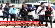Alanyada uyuşturucu operasyonu: 3 gözaltı
