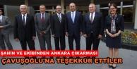 ALTSO#039;dan ilk ziyaret Bakan Çavuşoğlu#039;na
