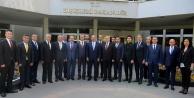 ATSO yeni yönetiminden Çavuşoğlu ziyareti