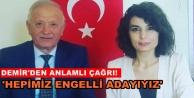 Başkan Demir'den duyarlılık çağrısı