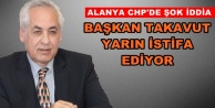 Takavut'tan flaş istifa açıklaması!