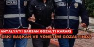 Eski başkan ve yönetimine operasyon: 11 kişi gözaltında