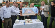 Futbolculardan Çavuşoğluna sürpriz kutlama