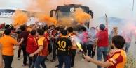 Galatasaray, Alanya#039;da şampiyon gibi karşılandı