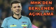 Galatasaray maçının hakemi açıklandı