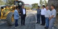 Gazipaşa yolu asfalta hazırlanıyor