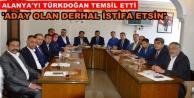 MHP İlçe Başkanları toplantı yaptı