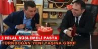 Türkdoğan#039;a doğum günü sürprizi