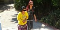 Uyuşturucu taciri kadın yakalandı