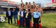 Yağlı güreş festivalinde Ali Gürbüz başpehlivan oldu