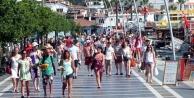 22 günde 1 milyon 79 bin turist geldi