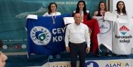 271 sporcu Alanya'da yarıştı
