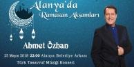 Ahmet Özhan Alanyalılarla buluşuyor